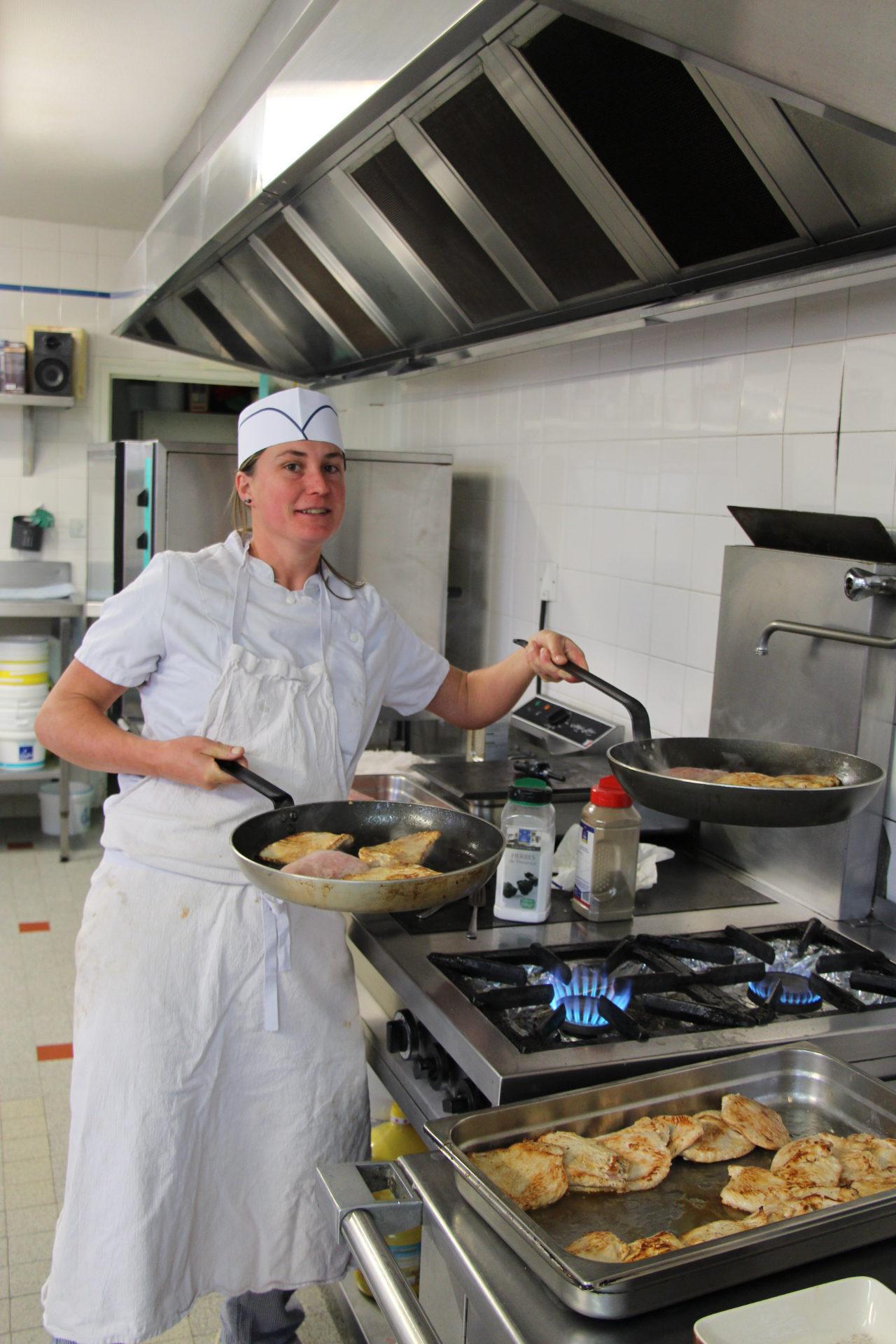 Notre super cuisinière !
