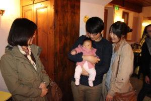 La famille Hwang et la toute petite Elie !
